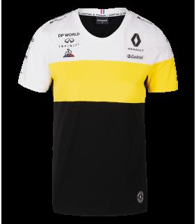 T-shirt Homme RENAULT Le Coq Sportif Ricciardo 3 F1 Racing Team Officiel Formule 1