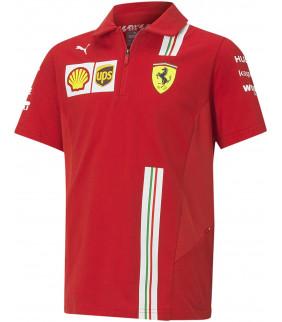 Polo Homme Ferrari Scuderia...