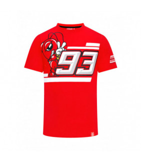 T-shirt Homme Marc Marquez MM93 Fourmi Cartoon
