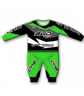 Pyjama Enfant Bud Racing Body 1 pièce Officiel Motocross