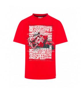 T-shirt Homme Marc Marquez Photographic Words MM93