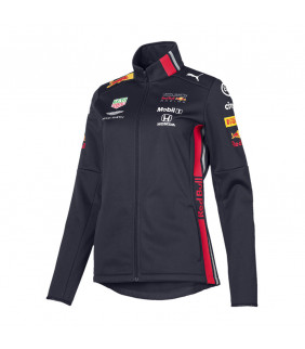 Veste Softshell Femme Puma F1 Racing Formula Team Red Bull Aston Martin