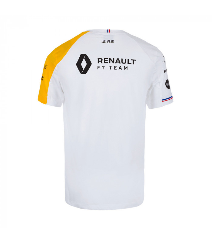 T-shirt Femme RENAULT Le Coq Sportif F1 Racing Team Officiel Formule 1