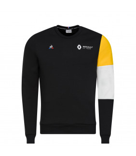 Sweat-shirt Homme Renault Teamwear Le Coq Sportif F1 Racing Officiel Formule 1