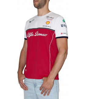 Tshirt Homme ALFA ROMEO Officiel Team F1 Racing Officiel Formule 1