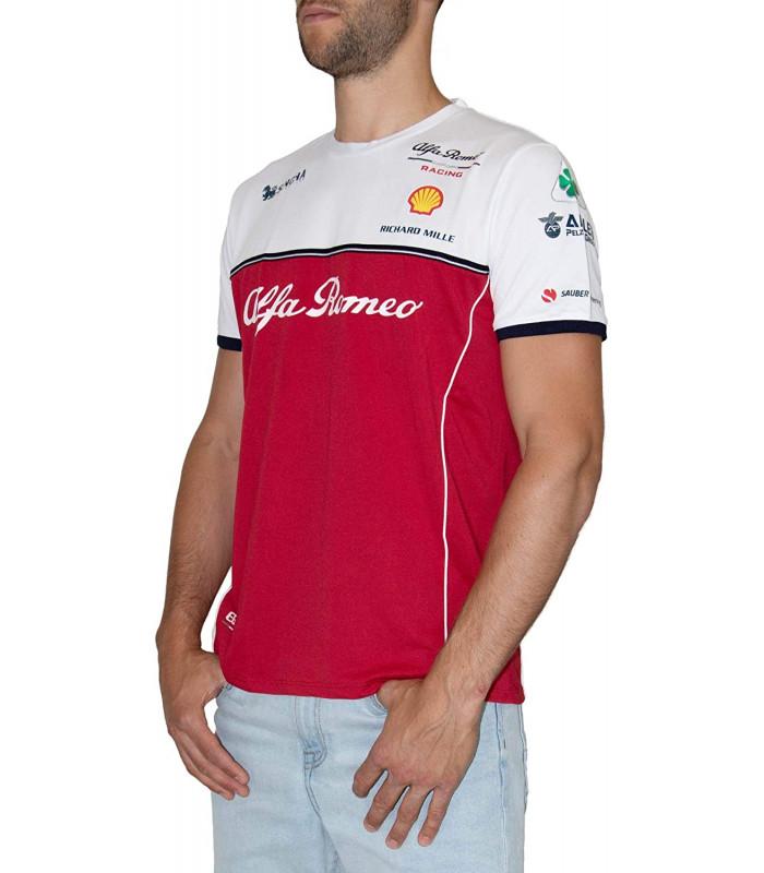 Tshirt Homme ALFA ROMEO Officiel Team F1 Racing Officiel Formule 1