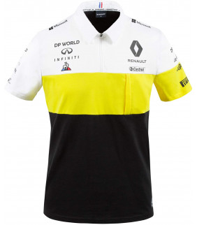 Polo Homme Renault Team Le Coq Sportif F1 Racing Officiel Formule 1