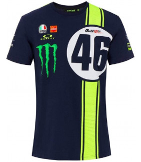 T-Shirt Homme Valentino Rossi Abu Dhabi 12Hrs Edition Limited VR46