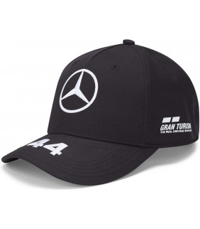 Casquette Homme Baseball Mercedes-AMG Petronas Motorsport Team F1 Lewis Hamilton Officiel Formule 1