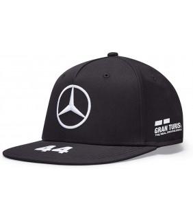 Casquette Plate Mercedes-AMG Petronas Motorsport Team F1 Lewis Hamilton Officiel Formule 1