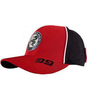 Casquette Baseball Alfa Romeo Racing Team Antonio Giovinazzi 99 Officiel Formule 1