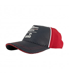 Casquette Baseball Alfa Romeo Racing Team Carbonne Officiel Formule 1