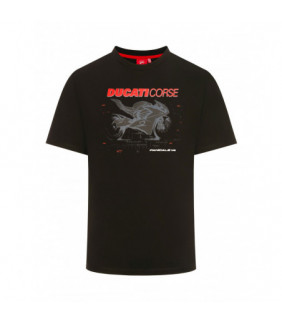 T-shirt Homme Photographic Ducati Corse