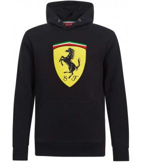 Sweat a capuche Enfant Ferrari Scuderia Team Officiel logo F1 Officiel Formule 1