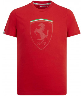 Tshirt logo Ferrari Scuderia Officiel Team F1 Officiel Formule 1