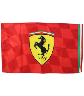 Drapeau Ferrari Scuderia Team Motorsport F1 Officiel Formule 1