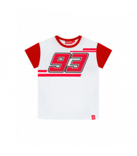 T-shirt Enfant Sleeves Gros 93 MM93 Marc Marquez