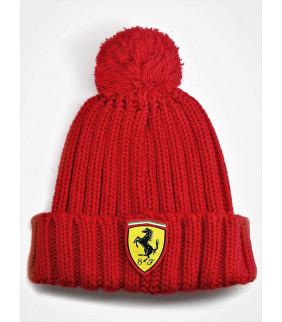 Bonnet Enfant Ferrari Scuderia F1 Team Grosse Laine Officiel Formule 1