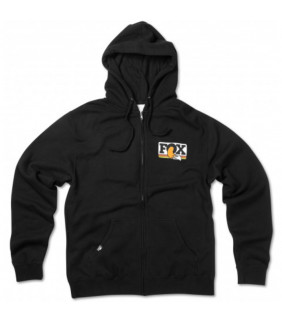 Sweat a capuche Zip FOX Racing HERITAGE Lightweight Officiel Motocross