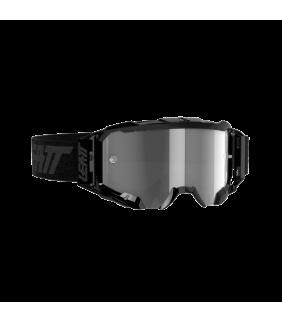 Masque LEATT Velocity 5.5 - noir Black - Ecran gris clair 58% Officiel Motocross/VTT/BMXDH
