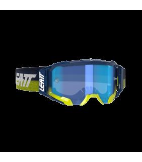 Masque LEATT Velocity 5.5 - bleu marine Ink - Ecran bleu 70% Officiel Motocross/VTT/BMXDH