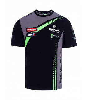 T-shirt Enfant Kawasaki Racing Team Réplique Officiel Superbike
