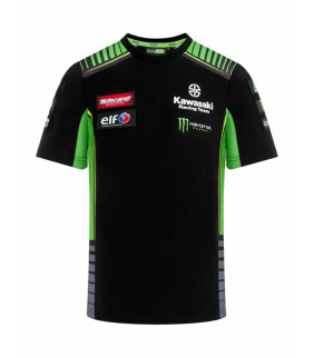 T-shirt Enfant Kawasaki Racing Team Réplique Officiel Superbike