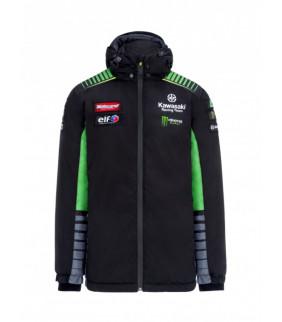 Veste a Capuche Zip Kawasaki Racing Team Réplique Officiel Superbike