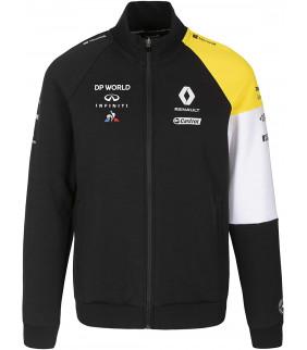 Sweat-shirt Homme Zip Renault Team Le Coq Sportif F1 Racing Officiel Formule 1
