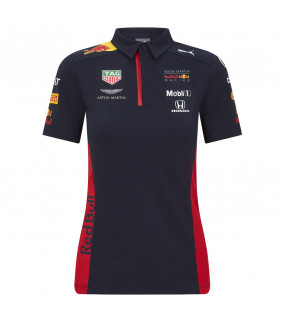 Polo Femme Aston Martin F1 Racing Formula Team RB Officiel Formule 1