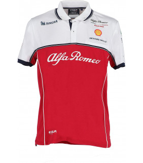 Polo ALFA ROMEO Officiel Team F1 Racing Officiel Formule 1