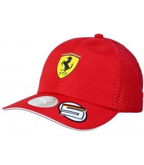 Casquette Enfant Ferrari Scuderia Team Motorsport F1 Officiel Formule 1 Vettel