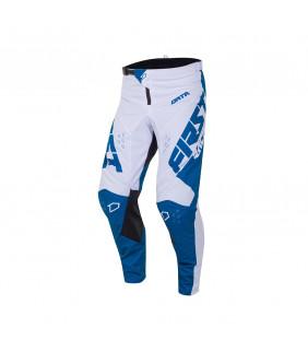 Pantalon First Racing Data Evo Officiel Motocross -  denim/blanc