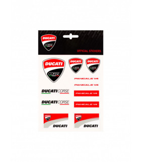 Planche Sticker Ducati Corse Officiel MotoGP