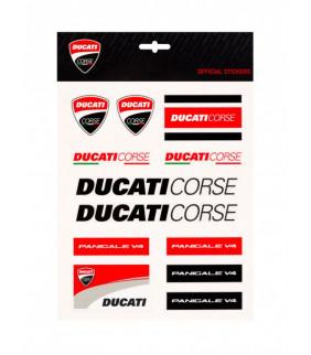 Planche Gros Sticker Ducati Corse Officiel MotoGP