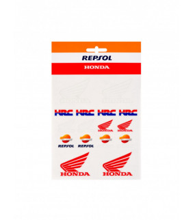 Planche Sticker Honda Repsol HRC Racing Officiel MotoGP