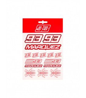 Planche Sticker Marc Marquez 93 Moyenne Officiel MotoGP