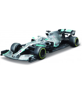 Voiture Miniature 1/43 Bburago Mercedes-AMG Petronas Motorsport Team  Lewis Hamilton F1 Driver Officiel Formule 1