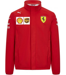 Veste Softshell Ferrari Scuderia Team Officiel logo F1 Officiel Formule 1