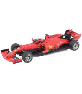 Voiture Miniature 1/43 Bburago Scuderia Ferrari Team Charles Leclerc 16 F1 Driver Officiel Formule 1
