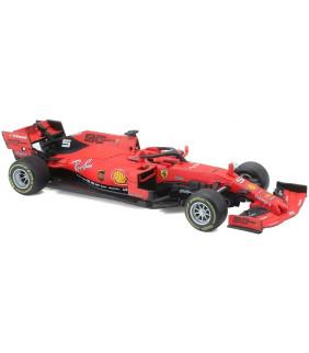 Voiture Miniature 1/43 Bburago Scuderia Ferrari Team Sebastien Vettel 5 F1 Driver Officiel Formule 1