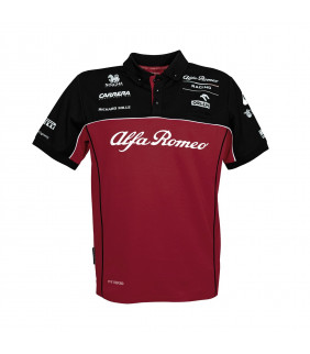 Polo Enfant ALFA ROMEO Officiel Team F1 Racing Officiel Formule 1
