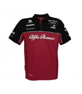 Polo Enfant ALFA ROMEO Officiel Team F1 Racing Officiel Formule 1