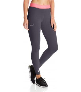 Desigual Sport Pant_Naranja Legging de Sport Femme