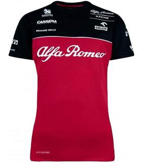Tshirt Femme ALFA ROMEO Officiel Team F1 Racing Officiel Formule 1