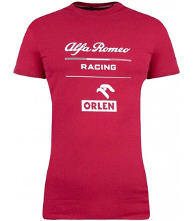 Tshirt Femme ALFA ROMEO Essential Officiel Team F1 Racing Officiel Formule 1