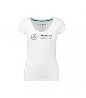 T-Shirt Femme Mercedes-AMG Petronas Motorsport Team F1 Driver