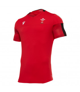 Maillot Rugby Macron Replica WRU Pays de Galles Training