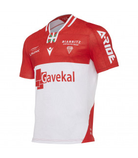 Maillot Rugby Macron Biarritz olympique Pays basque Officiel