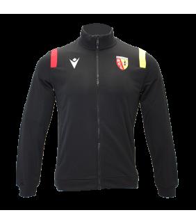 Sweat Zip Macron Racing Club de Lens Officiel Football